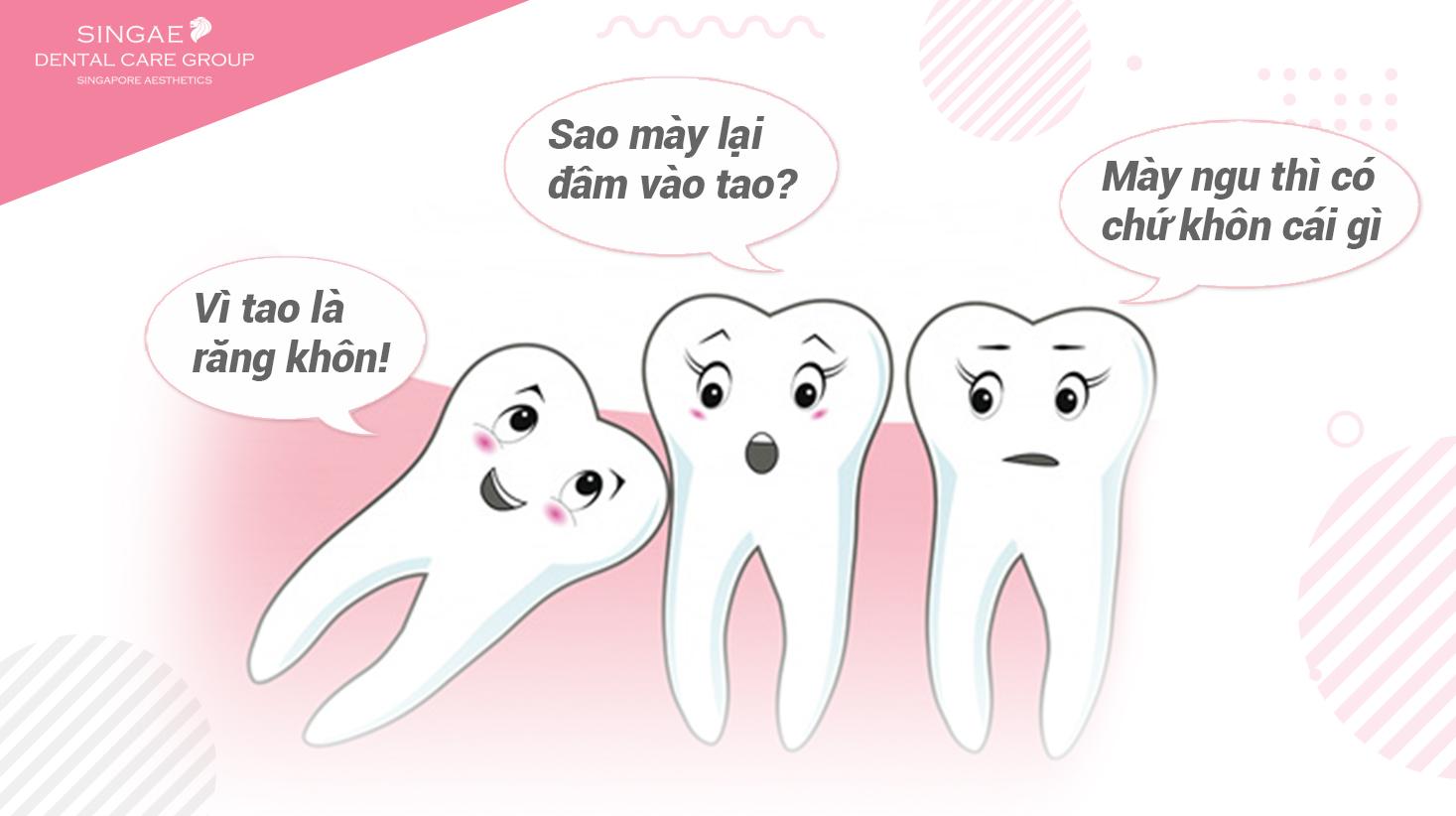 """Đừng để răng khôn trở thành """"răng ngu"""" – Có nên nhổ răng khôn?"""