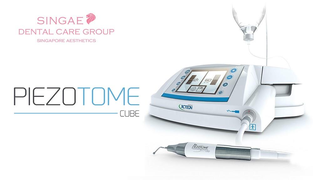 Công nghệ nhổ răng Piezotome tại nha khoa Singae