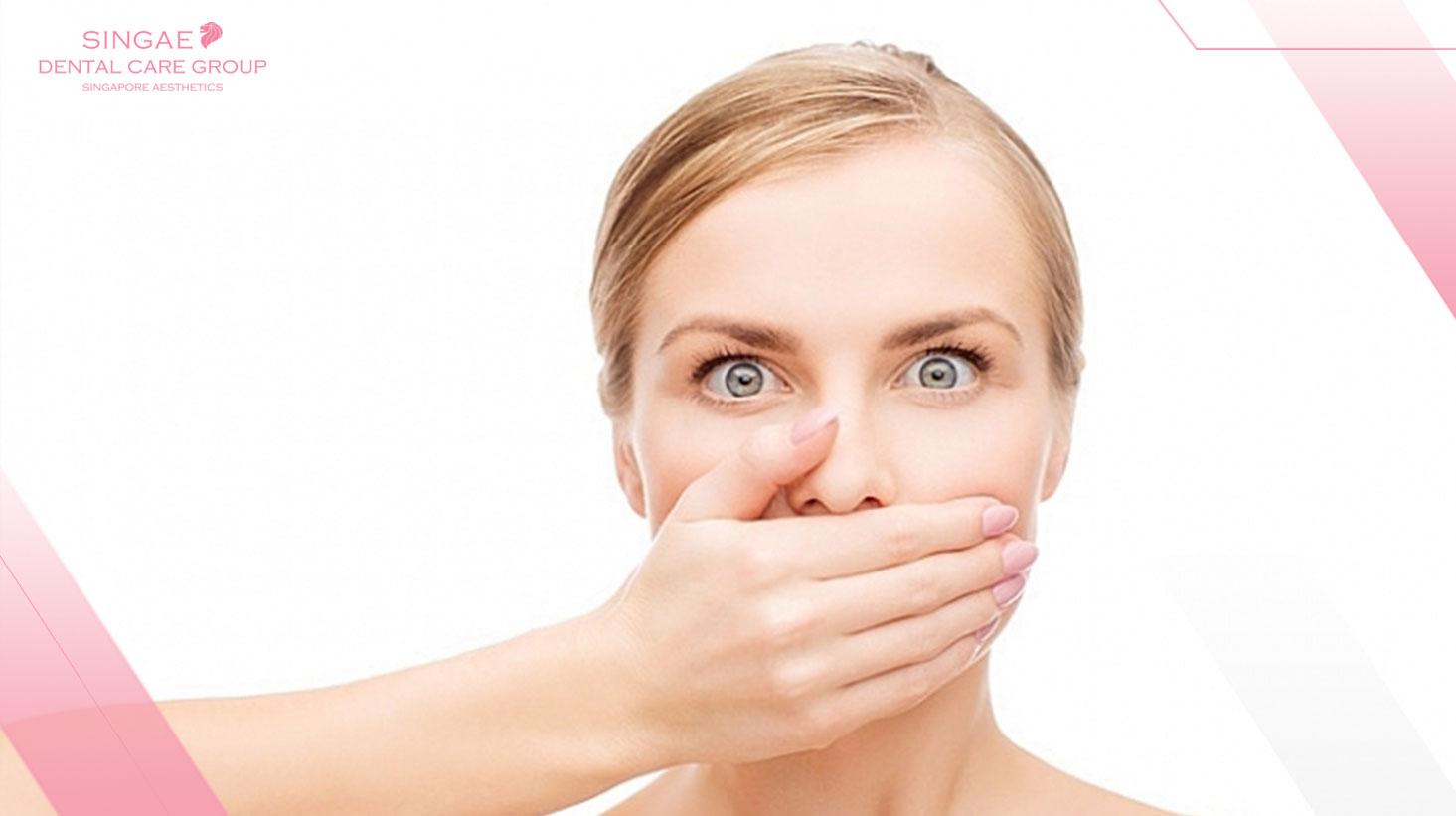 [ Giải đáp ] Bọc răng sứ có bị hôi miệng không? Nguyên nhân, cách chữa