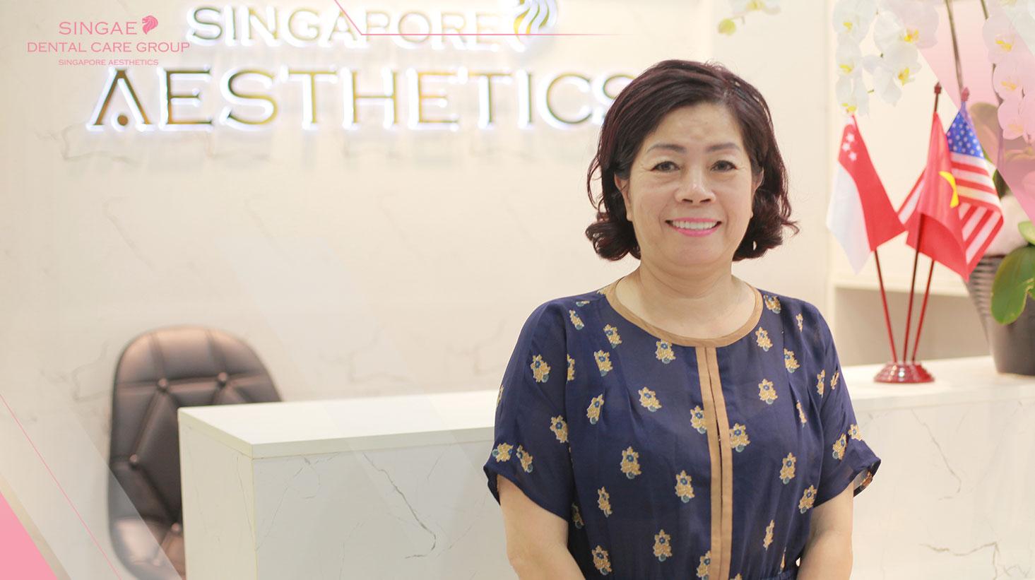 Bà chủ một chuỗi nhà hàng tại Hà Nội  trồng 18 răng sứ để hoàn thiện nụ cười