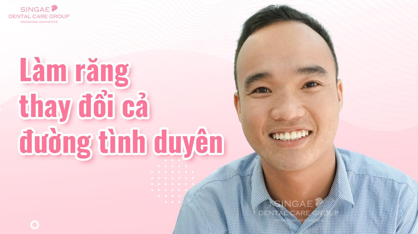 Chàng trai Hà Tĩnh lấy được vợ đảm ngay sau khi bọc răng sứ